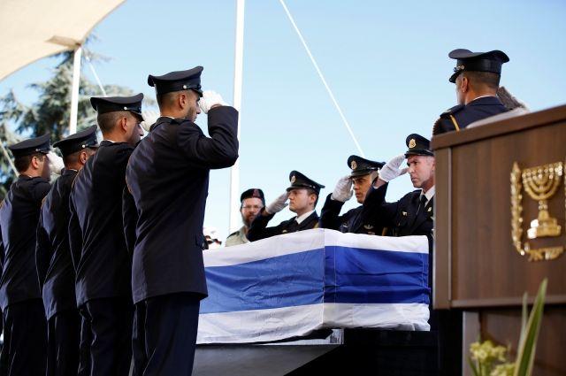 ВИерусалиме закончилась церемония похорон Шимона Переса