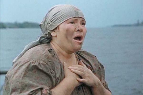 В роли глухонемой Лидии Матвеевны в фильме «Холодное лето пятьдесят третьего...» (1987).