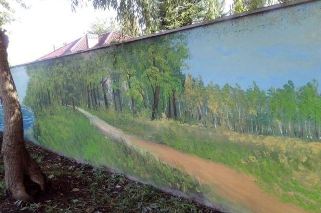 Андрей Турицын нарисовал картину общей площадью 98 квадратных метров.