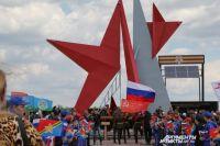 Памятник советским воинам-освободителям «Миус-фронта» в Ростовской области.