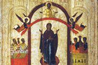 Икона «Покров Пресвятой Богородицы».