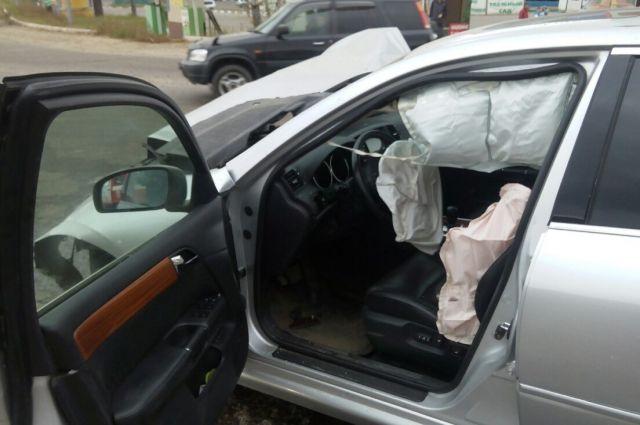 Водитель попытался уйти от аварии