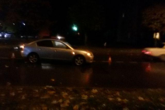 ВЧереповце нетрезвый пешеход-нарушитель попал под колеса легковушки