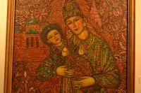 Сююмбике с сыном Утямыш-Гиреем. Работа Ильдара Зарипова, 1989-1990 гг.