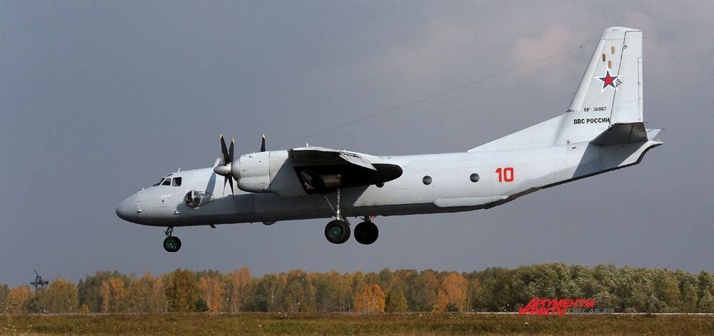 АН-26 Ш на посадке