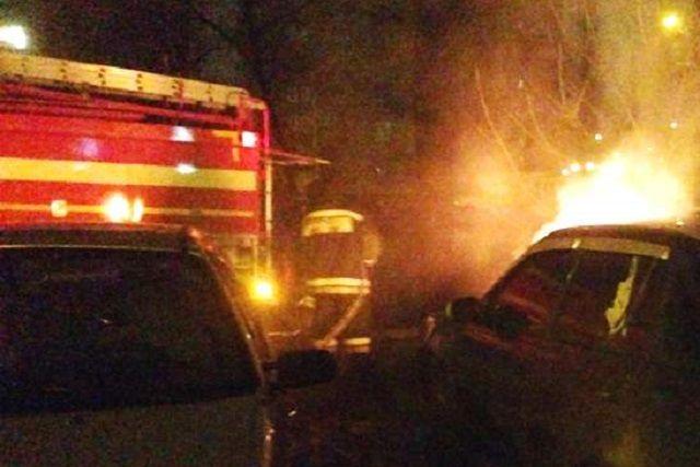 Вцентре Пензы ночью сгорел «BMW X6»