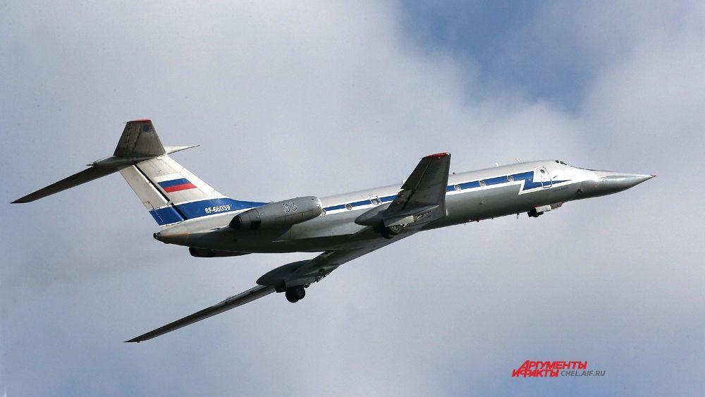 Взлёт ТУ-134 УБЛ