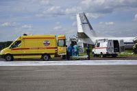 В самолете умерла пассажирка