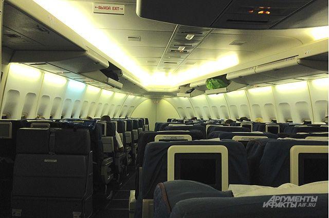 Девушка скончалась наборту самолета Новосибирск-Петербург