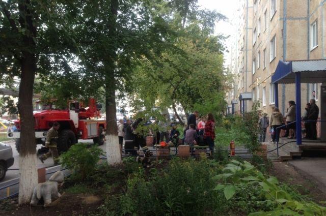 ВОренбурге наДжангильдина горела многоэтажка
