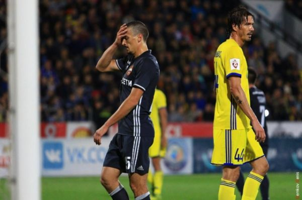 Во втором тайме гол в ворота ЦСКА забил полузащитник донского клуба Александр Гацкан (на 66-й минуте), что сильно обнажило нерв игры.
