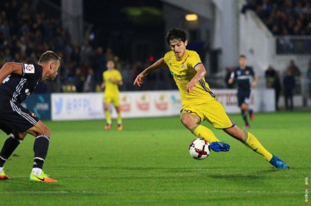 «Ростов» нанёс ЦСКА первое поражение и не позволил выйти в лидеры РФПЛ.