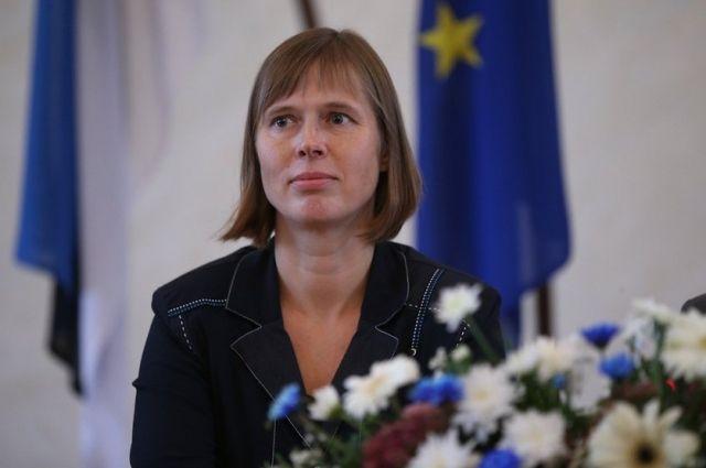 Новый президент Эстонии отказалась жить впрезидентском замке