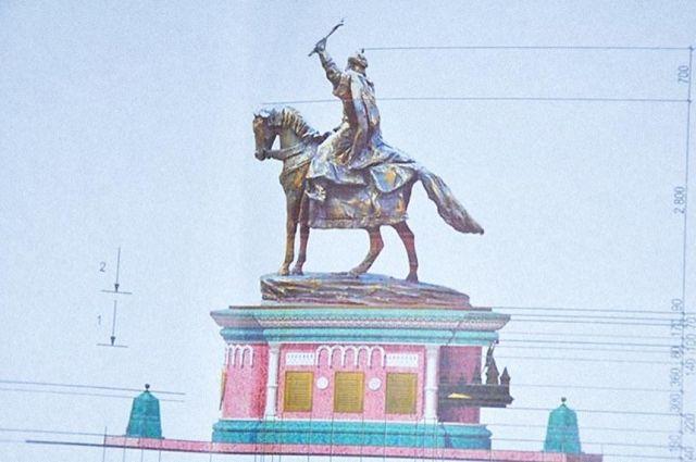 ВОрле установили монумент Ивану Грозному