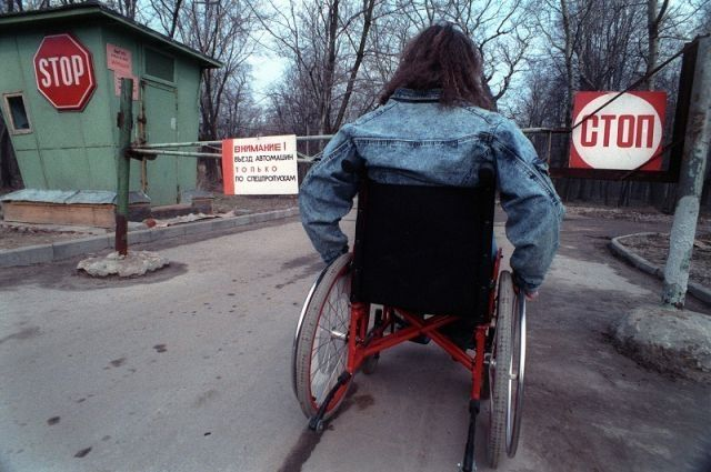 Инвалиды вынужденно покинули пансионат вОдессе ивернулись взону АТО