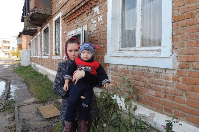 Миляуша Терскова воспитывает троих детей, ипотека ей не по карману.