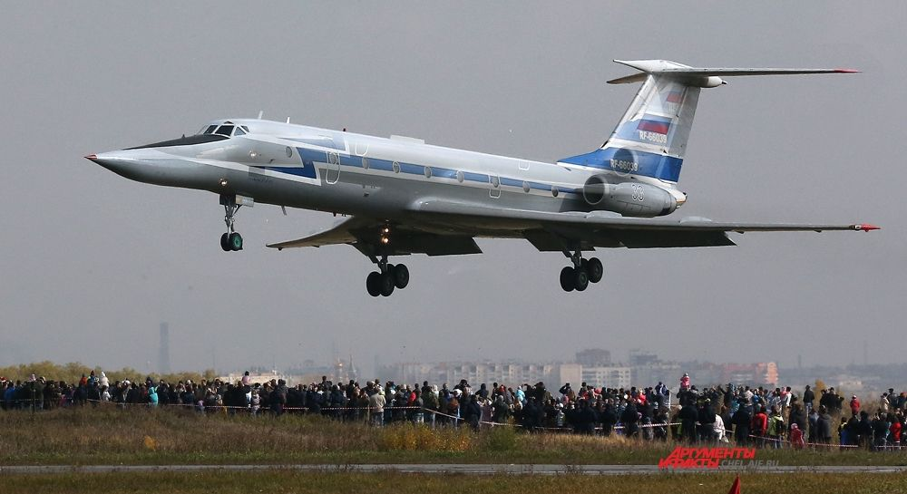 Пролёт ТУ-134 УБЛ