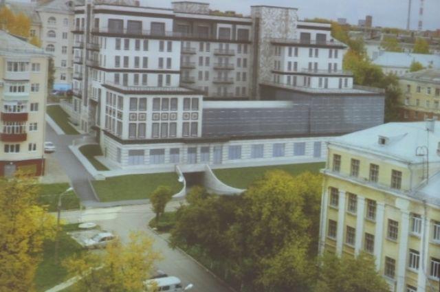 ВЧебоксарах наулице Гайдара построят дом сбассейнами