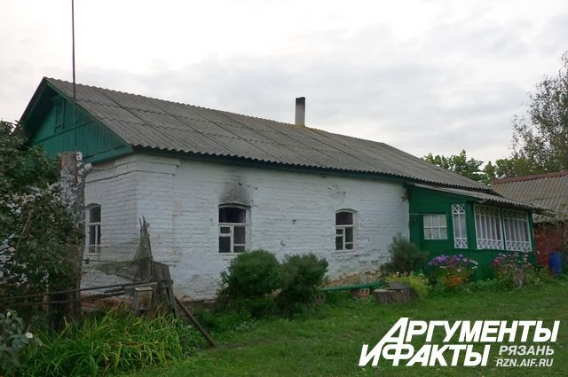 Дом, в котором произошло убийство.