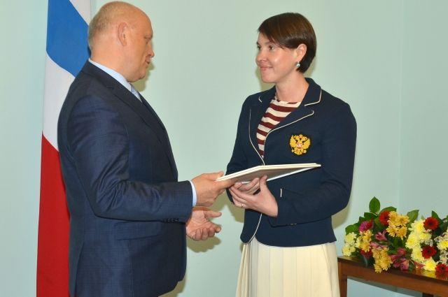 Спортсмены получили награды от главы региона.