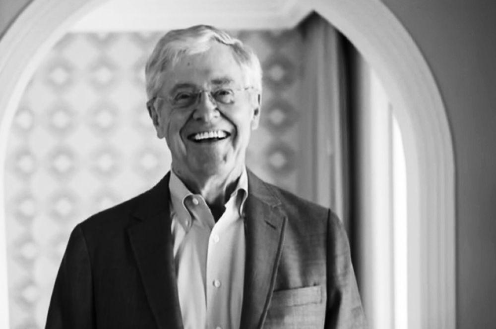 Капитал Чарльза Коха из Koch Industries в 42 млрд долларов обеспечил ему седьмую строчку в списке богатейших людей Америки.