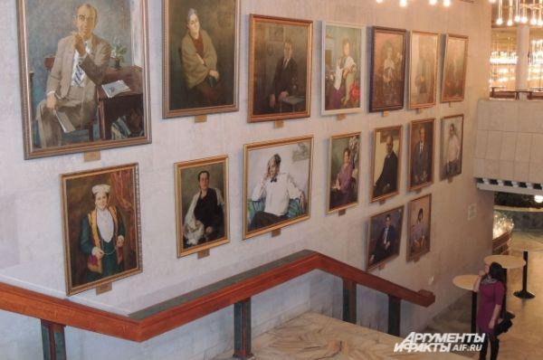 Портретная галерея камаловцев.