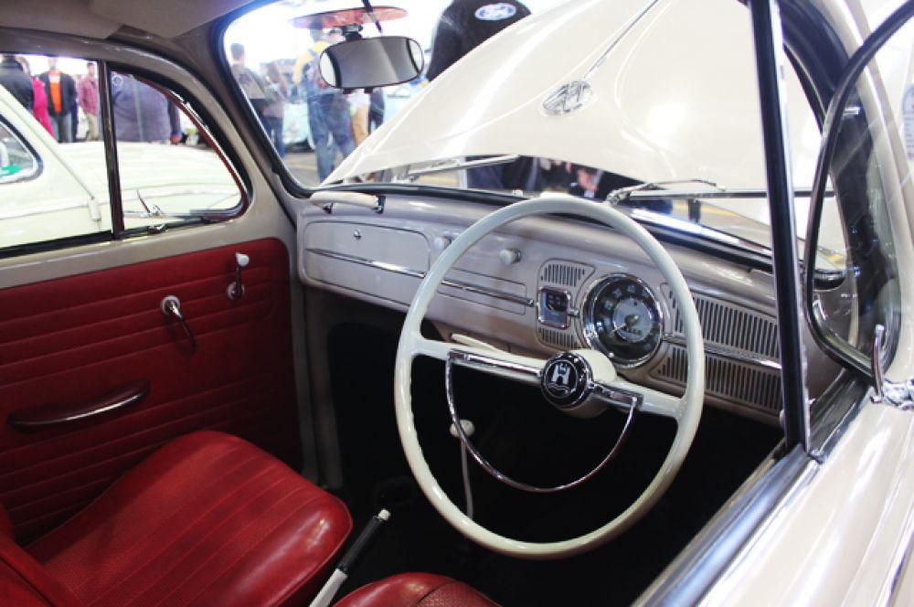 Салон Volkswagen Type 1 1967 года.