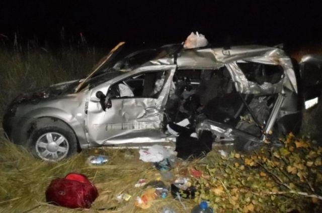 ВСеверном районе натрассе Москва— Челябинск погибли три жителя Республики Чувашая