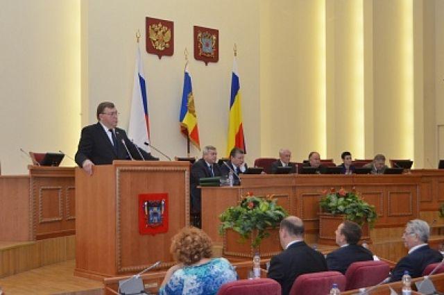 Александра Ищенко выбрали председателем Заксобрания Ростовской области