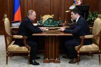 Владимир Путин и Антон Алиханов.