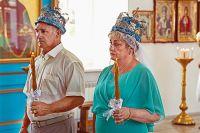 Через 35 лет после разлуки они поженились второй раз, а потом венчались в церкви.