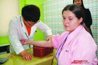Результат анализа пациенты узнают через несколько минут