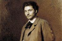 Крамской И. Н. Портрет художника Ф. А. Васильева, 1871