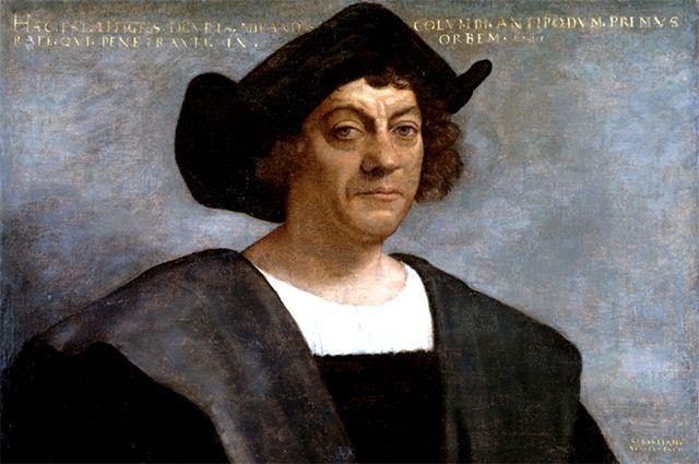 Христофор Колумб. Посмертный портрет кисти Себастьяно дель Пьомбо.
