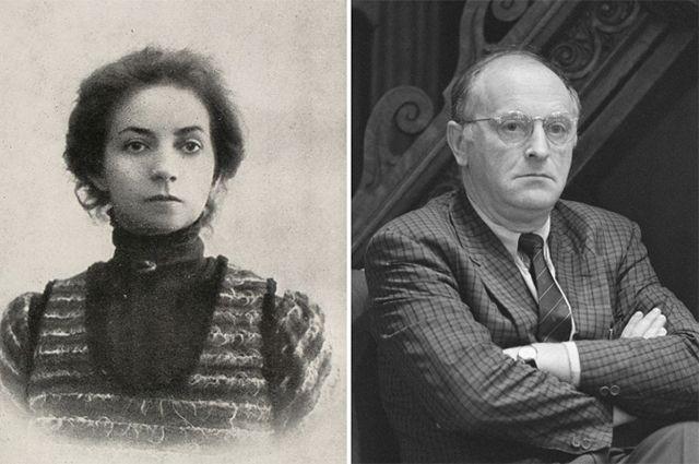 Вера Комиссаржевская и Иосиф Бродский.