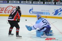 Голкипер «Сибири» был надёжен в основное время матча.