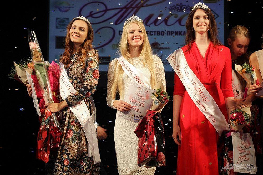 Второй вице-мисс стала Ксения Роман, а первой вице-мисс - Мария Черняк.