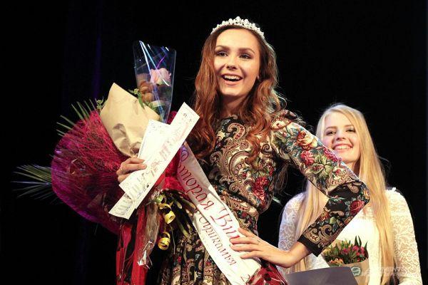 Вторая вице-мисс Ксения Роман.