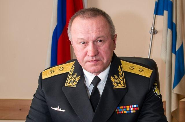 Путин нзначил Игоря Мухаметшина напост начальника штаба Балтийского флота