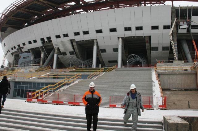 Настроительстве «Зенит-Арены» умер рабочий