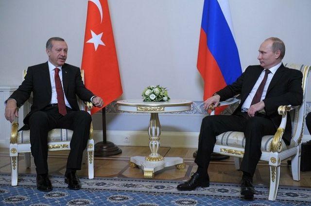 Путин проведет переговоры сЭрдоганом вСтамбуле 10октября