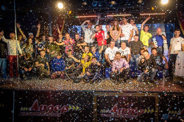 Торжественное награждение победителей ралли «Cupper Псков-2016».