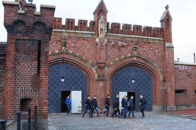 В Калининграде открылась выставка о фильмах, снятых в регионе.