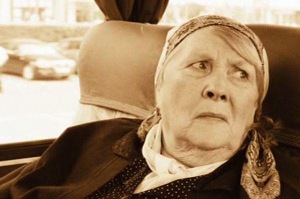 Женщина в автобусе в киноальманахе «Москва, я люблю тебя!» (2010).