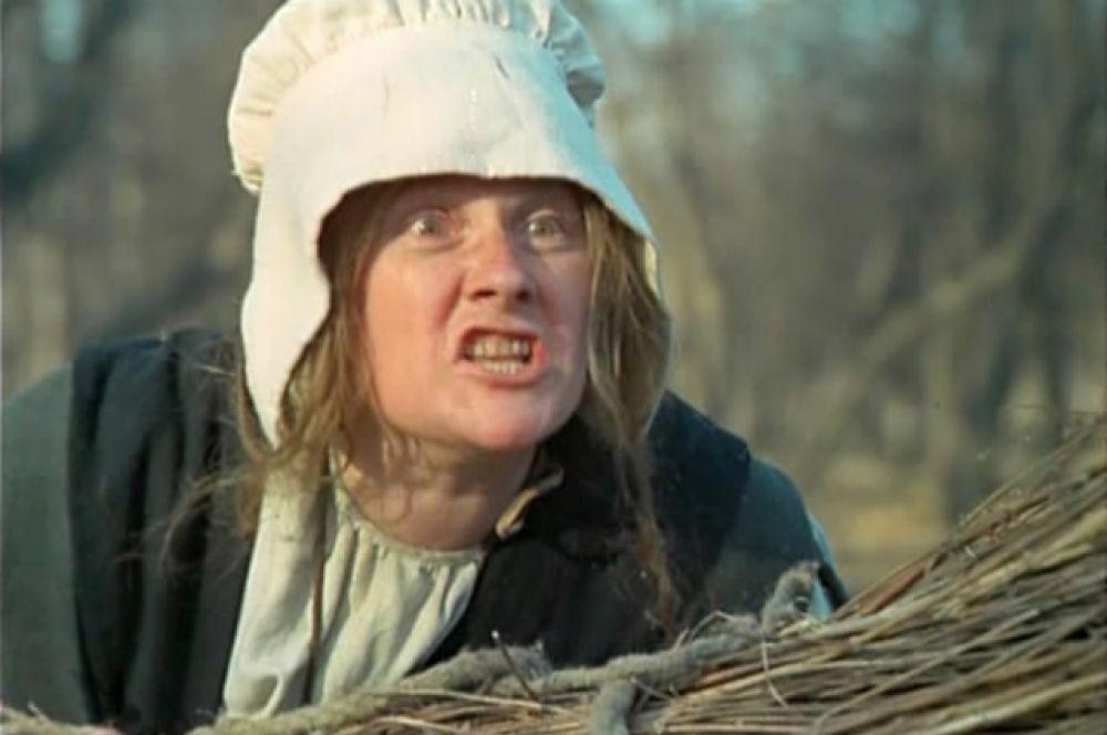 Сварливая женщина в картине «Легенда о Тиле» (1976).