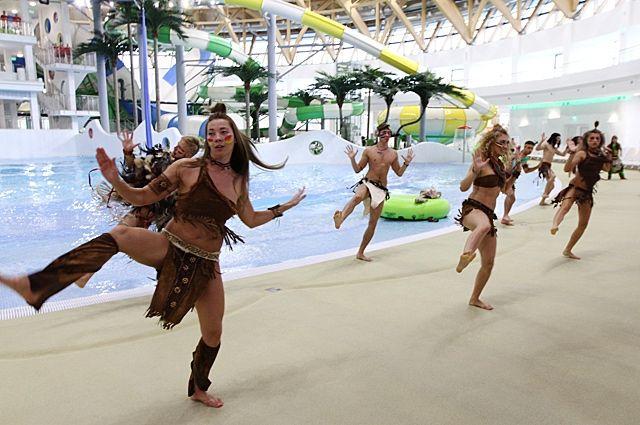 Наибольший крытый аквапарк РФ открылся вНовосибирске