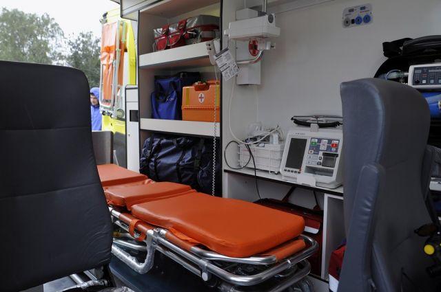 ВЧелябинске легковушка врезалась вкарету скорой помощи