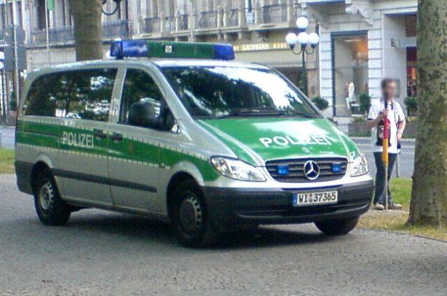 Милиция проводит специализированную операцию в германском городе Хемниц из-за угрозы взрыва