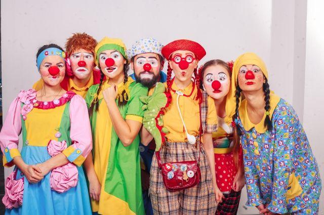 За этот год клоуны навестили в больницах более 7300 детей