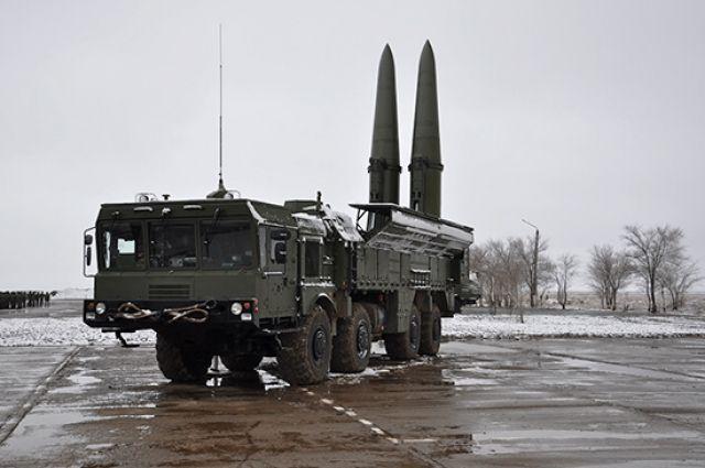 Минобороны РФ объяснило появление под Калининградом «Искандеров».